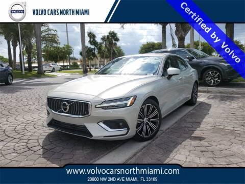 2020 Volvo S60 for sale at Volvo Cars North Miami in Miami FL