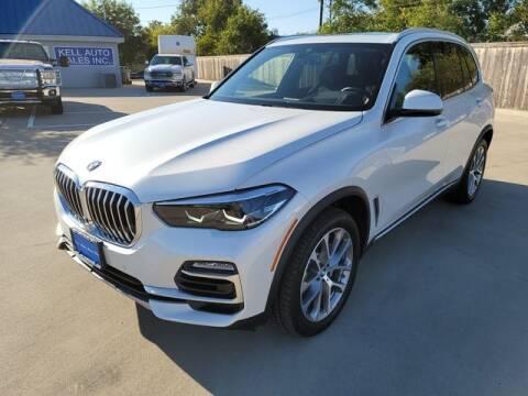 2020 BMW X5 for sale at Kell Auto Sales, Inc - Grace Street in Wichita Falls TX