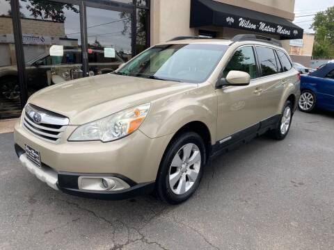 2010 Subaru Outback for sale at Wilson-Maturo Motors in New Haven CT