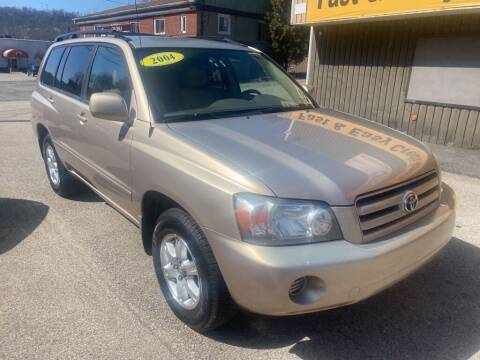 2004 Toyota Highlander for sale at Worldwide Auto Group LLC in Monroeville PA