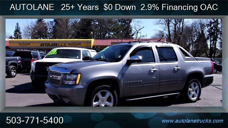 2008 Chevrolet Avalanche for sale at Auto Lane in Portland OR