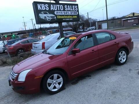 2008 Ford Fusion for sale at KBS Auto Sales in Cincinnati OH