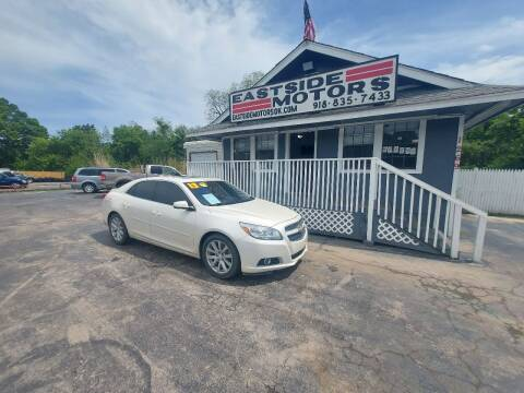 2013 Chevrolet Malibu for sale at EASTSIDE MOTORS in Tulsa OK