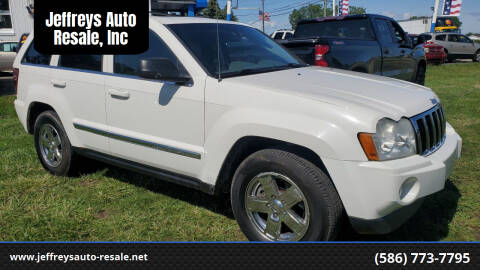 2006 Jeep Grand Cherokee for sale at Jeffreys Auto Resale, Inc in Clinton Township MI