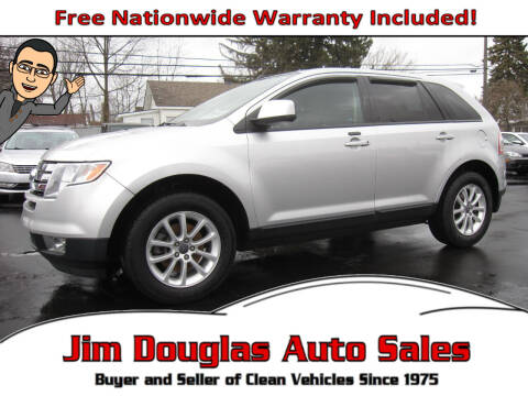 2010 Ford Edge for sale at Jim Douglas Auto Sales in Pontiac MI