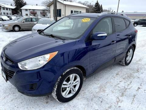 2012 Hyundai Tucson for sale at CHRISTIAN AUTO SALES in Anoka MN