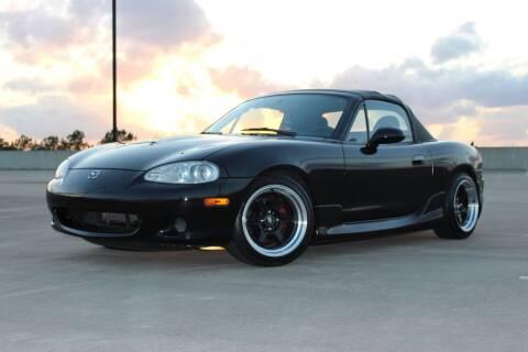 2002 Mazda MX-5 Miata for sale at Demetry Automotive in Houston TX