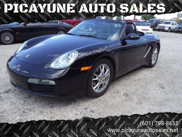 2007 Porsche Boxster for sale at PICAYUNE AUTO SALES in Picayune MS