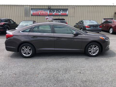 2015 Hyundai Sonata for sale at Stikeleather Auto Sales in Taylorsville NC