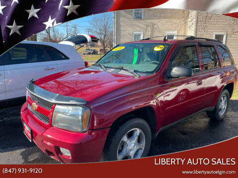 2008 Chevrolet TrailBlazer for sale at Liberty Auto Sales in Elgin IL