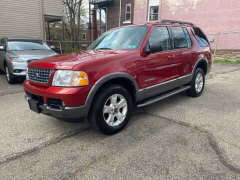 2005 Ford Explorer for sale at MG Auto Sales in Pittsburgh PA