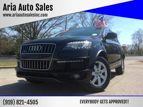 2010 Audi Q7 for sale at ARIA  AUTO  SALES in Raleigh NC
