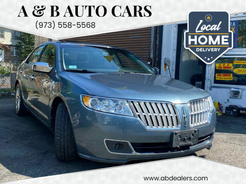 2012 Lincoln MKZ for sale at A & B Auto Cars in Newark NJ