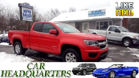 2017 Chevrolet Colorado for sale at CAR  HEADQUARTERS in New Windsor NY