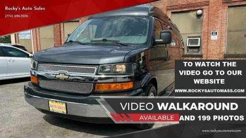 2014 Chevrolet Express Cargo for sale at Rocky's Auto Sales in Worcester MA