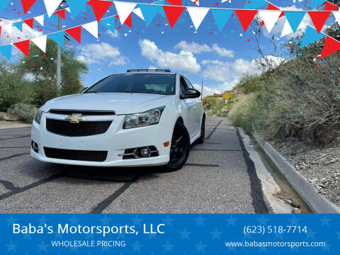 2013 Chevrolet Cruze for sale at Baba's Motorsports, LLC in Phoenix AZ