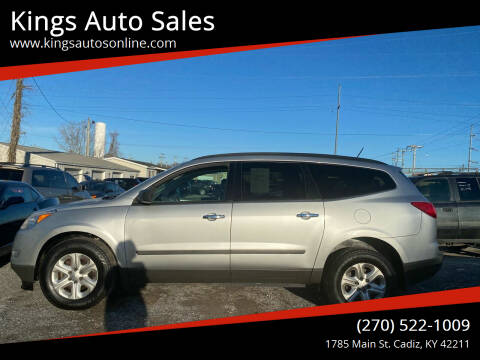2012 Chevrolet Traverse for sale at Kings Auto Sales in Cadiz KY