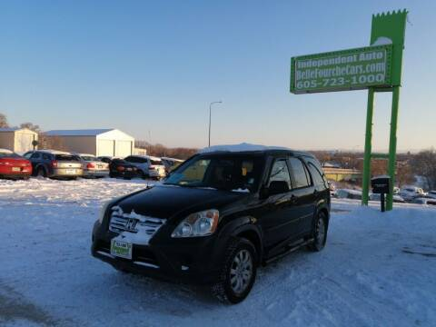 2006 Honda CR-V for sale at Independent Auto in Belle Fourche SD