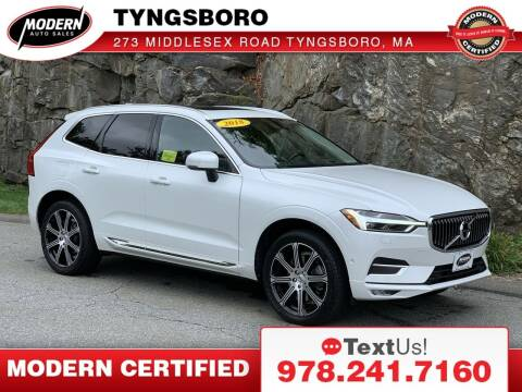 2018 Volvo XC60 for sale at Modern Auto Sales in Tyngsboro MA