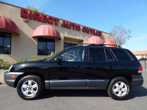 2005 Hyundai Santa Fe for sale at Direct Auto Outlet LLC in Fair Oaks CA