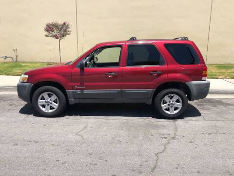 2005 Ford Escape for sale at HIGH-LINE MOTOR SPORTS in Brea CA