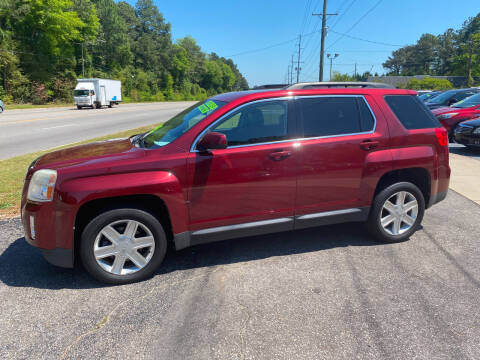 2010 GMC Terrain for sale at TOP OF THE LINE AUTO SALES in Fayetteville NC
