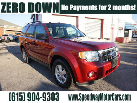 2012 Ford Escape for sale at Speedway Motors in Murfreesboro TN