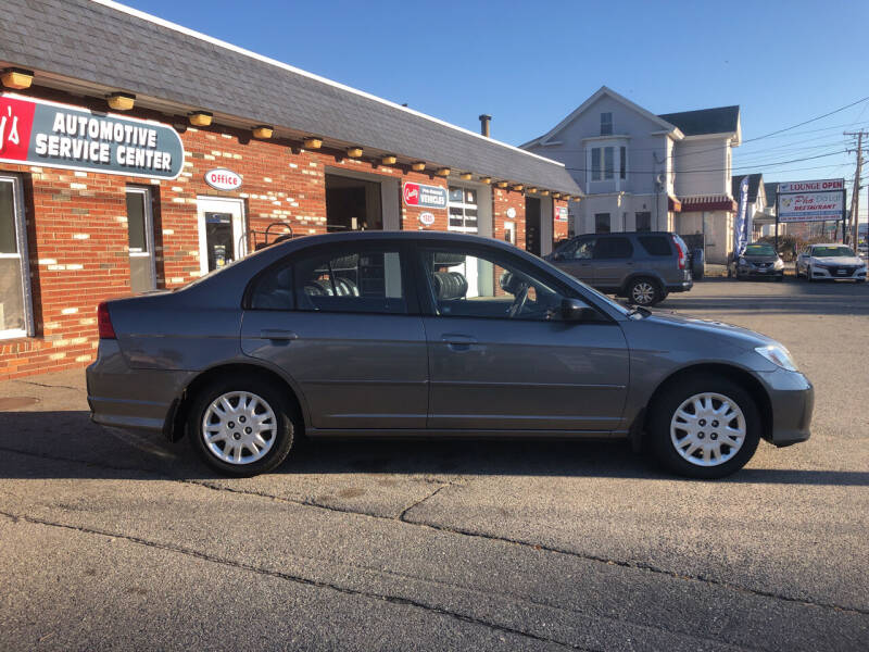 2004 Honda Civic for sale at RAYS AUTOMOTIVE SERVICE CENTER INC in Lowell MA