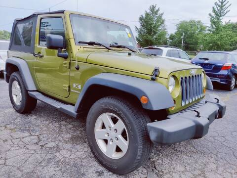 2007 Jeep Wrangler for sale at The Car Cove, LLC in Muncie IN