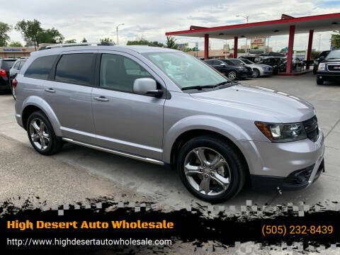 2016 Dodge Journey for sale at High Desert Auto Wholesale in Albuquerque NM