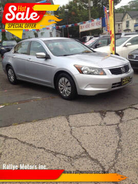 2009 Honda Accord for sale at Rallye  Motors inc. in Newark NJ