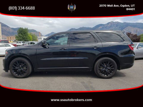 2015 Dodge Durango for sale at S S Auto Brokers in Ogden UT