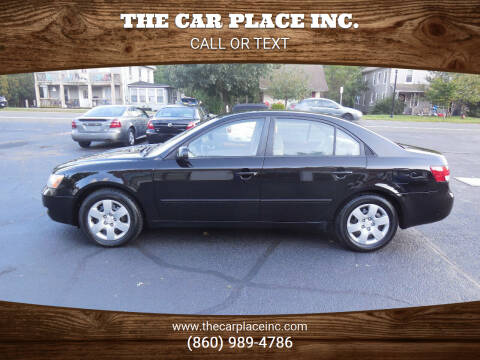 2008 Hyundai Sonata for sale at THE CAR PLACE INC. in Somersville CT