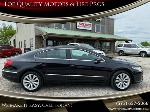 2012 Volkswagen CC for sale at Top Quality Motors & Tire Pros in Ashland MO