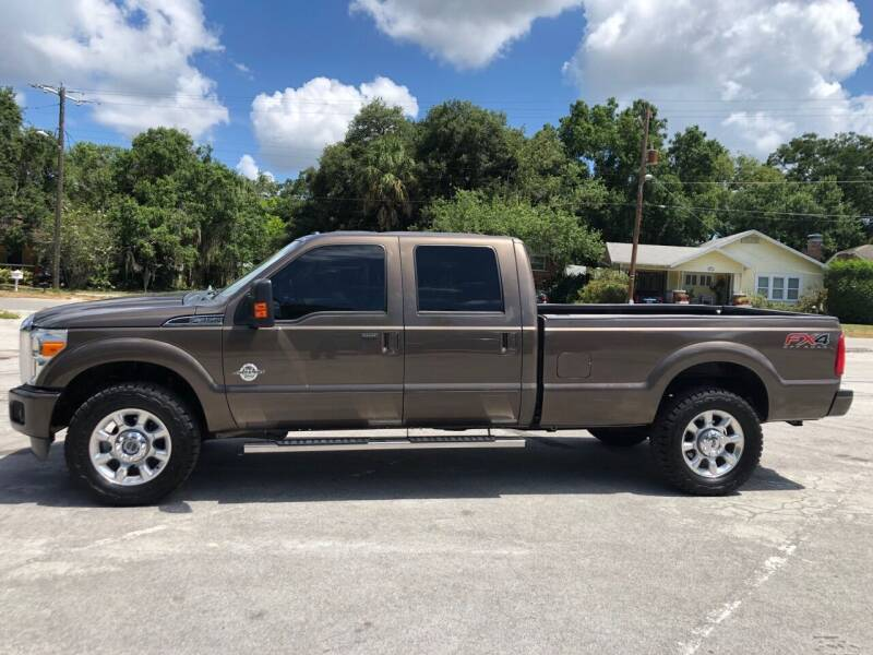 2015 Ford F-350 Super Duty for sale at LUXURY AUTO MALL in Tampa FL