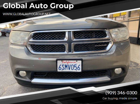 2011 Dodge Durango for sale at Global Auto Group in Fontana CA