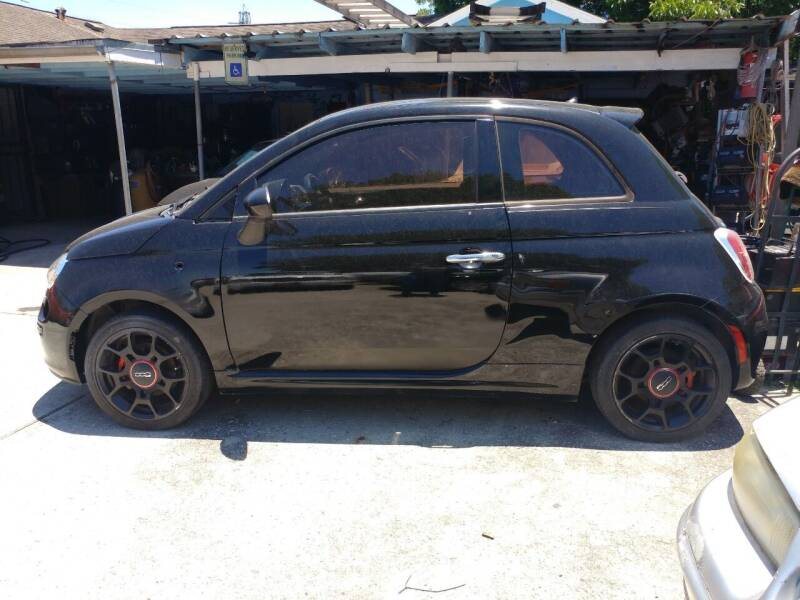2014 FIAT 500 for sale at Ody's Autos in Houston TX