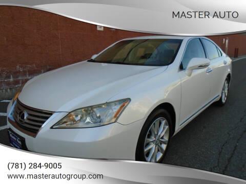 2010 Lexus ES 350 for sale at Master Auto in Revere MA