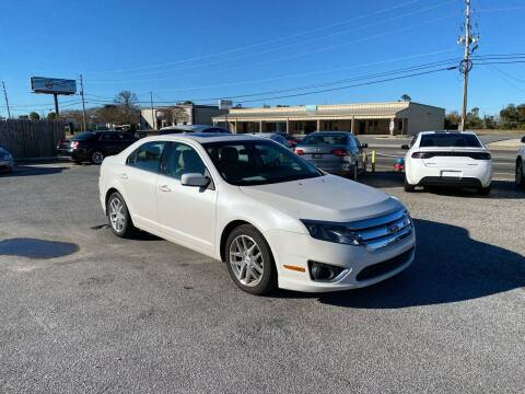 2012 Ford Fusion for sale at Lucky Motors in Panama City FL