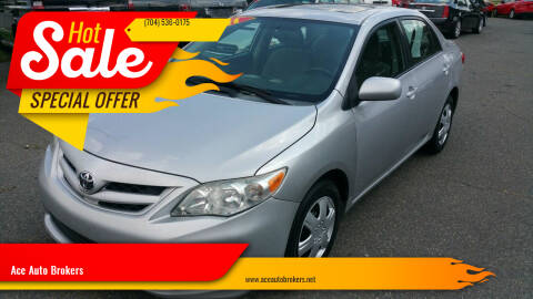 2011 Toyota Corolla for sale at Ace Auto Brokers in Charlotte NC