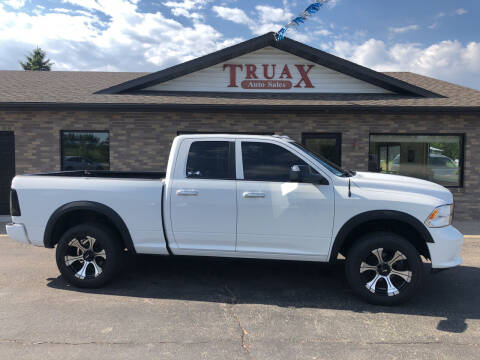 2013 RAM Ram Pickup 1500 for sale at Truax Auto Sales Inc. in Deer Creek MN