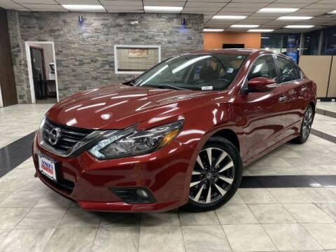 2016 Nissan Altima for sale at Sonias Auto Sales in Worcester MA