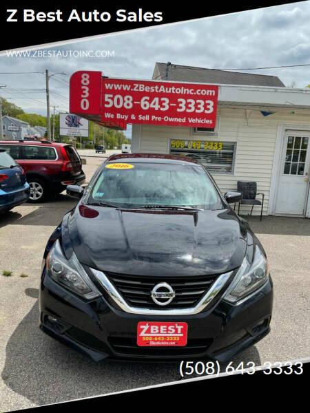 2016 Nissan Altima for sale at Z Best Auto Sales in North Attleboro MA