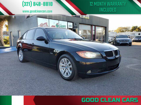 2007 BMW 3 Series for sale at Good Clean Cars in Melbourne FL
