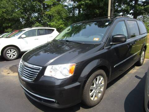 2014 Chrysler Town and Country for sale at BELKNAP SUBARU in Tilton NH