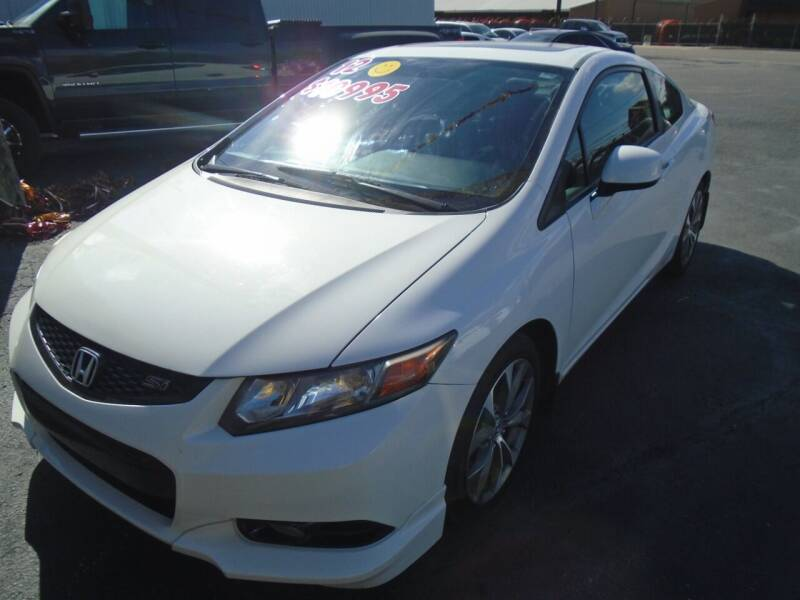 2012 Honda Civic for sale at River City Auto Sales in Cottage Hills IL