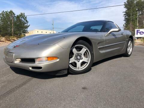 1998 Chevrolet Corvette for sale at el camino auto sales in Sugar Hill GA