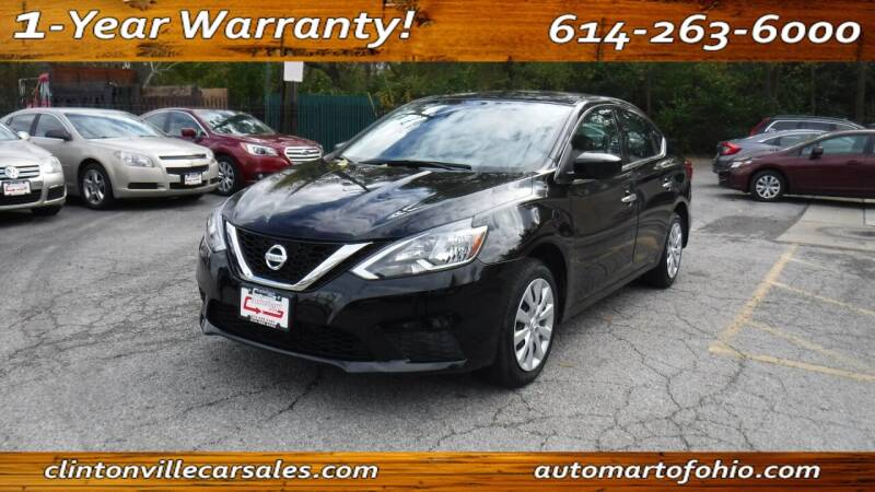 2016 Nissan Sentra for sale at Clintonville Car Sales - AutoMart of Ohio in Columbus OH
