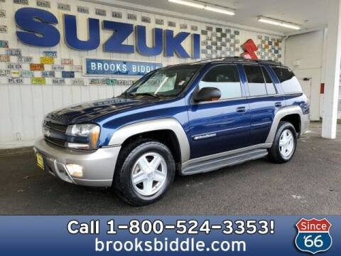 2002 Chevrolet TrailBlazer for sale at BROOKS BIDDLE AUTOMOTIVE in Bothell WA