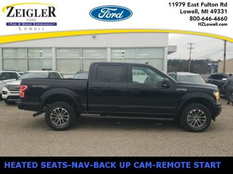 2018 Ford F-150 for sale at Zeigler Ford of Plainwell- Jeff Bishop in Plainwell MI